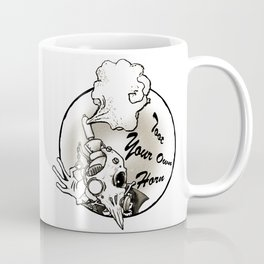 Toot Your Own Horn Coffee Mug