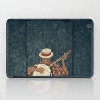 banjo iPad Cases featuring Banjo by Aquamarine Studio