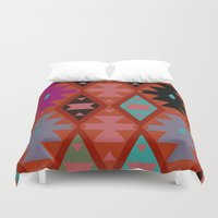 bohemian Duvet Covers featuring bohemian by spinL