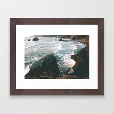 Oregon Coast IV Framed Art Print