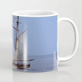 Tall ship Sailing the mighty Saint-Lawrence Coffee Mug