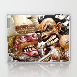 cowboy and native american Laptop & iPad Skin