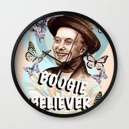 Mark Boogie Believer Wall Clock