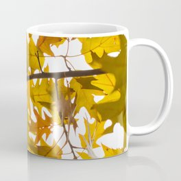 Golden oak leaves Coffee Mug