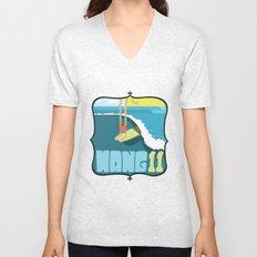 Hang 11 Unisex V-Neck