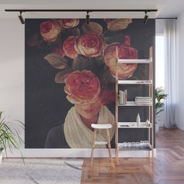 The smile of Roses Wall Mural