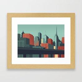 Urban Wildlife - Swordfish Framed Art Print