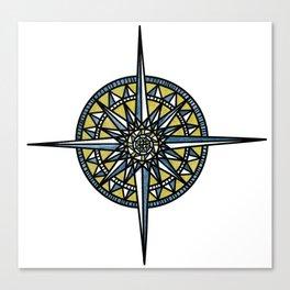 Compass Canvas Print