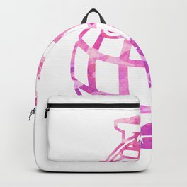 Abstract Grenade Backpack