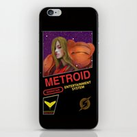 metroid iPhone & iPod Skins featuring NES Metroid  by IF ONLY