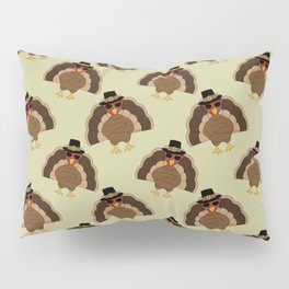 Cool Turkey with sunglasses Happy Thanksgiving Pillow Sham