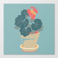Geranium Canvas Print