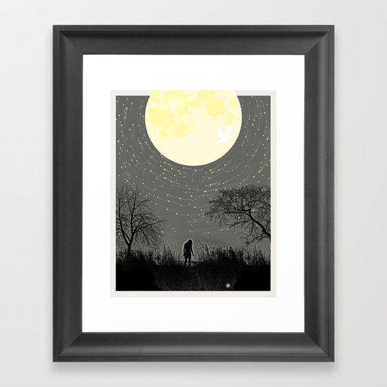 My Darkest Star Framed Art Print
