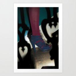 Legs 2. Art Print