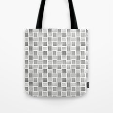 Dots & triangles Tote Bag