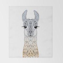 BABY LAMA (CRIA) Throw Blanket