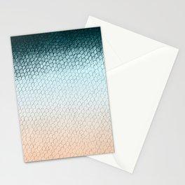 Fischschuppen einer Meerjungfrau Stationery Cards