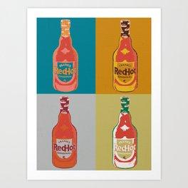 REDHOT Art Print