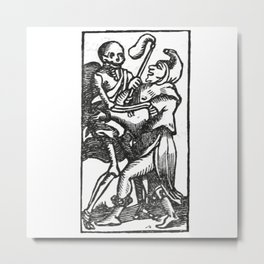 Death dancer Metal Print
