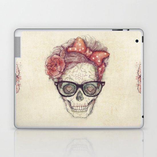 Hipster Girl is Dead Laptop & iPad Skin