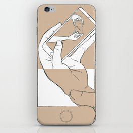 iFail Gold + White inverse (Picture This!) iPhone Skin