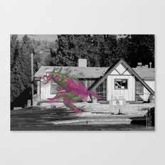 Unseen Monsters of Mount Shasta - Blisschoo Mildork Canvas Print