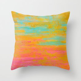 Warm Breeze Throw Pillow