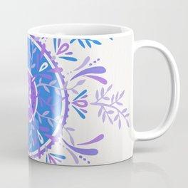 Leaf Mandala – Periwinkle Palette Coffee Mug