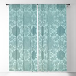 Elegance in Teal Blackout Curtain
