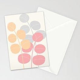 Pastel Leaves   #Society6 #decor #buyart Stationery Cards