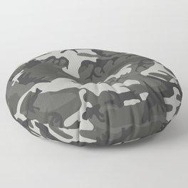 Classic Camouflage Artwork Floor Pillow