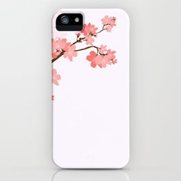 Blooming cherry tree iPhone Case