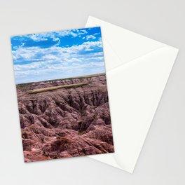 Bad Lands 4 Stationery Cards