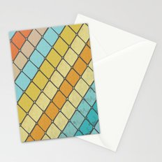 Fish Aqua Print Stationery Cards