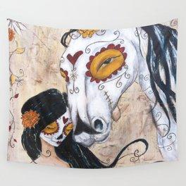 en el valle de sombra de muerte Wall Tapestry