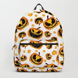 Festive Halloween Pumpkin Backpack