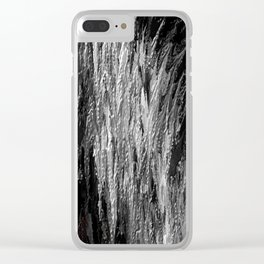 Frozen Strife Clear iPhone Case