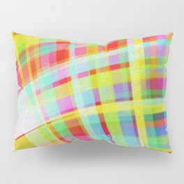 Moving Color Waves Fabric Pillow Sham