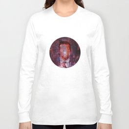 Faceless into the Universe Long Sleeve T-shirt