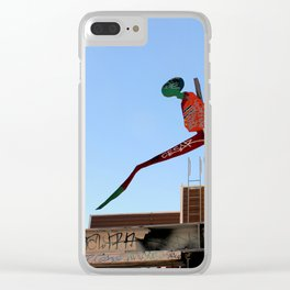 A Flying Leap Clear iPhone Case