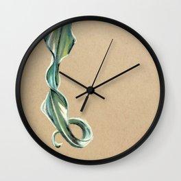 Curly leaf Wall Clock