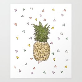 Pinapple Art Print
