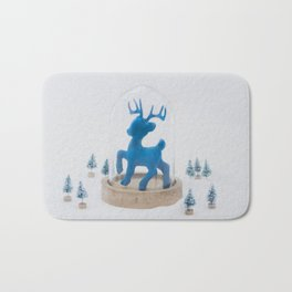 Oh deer, it's Christmas already! Bath Mat