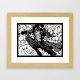 Superhero Print Framed Art Print