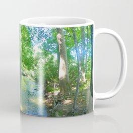 The Path of the Creek  Coffee Mug