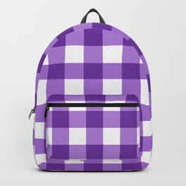 Purple Buffalo Check - more colors Backpack