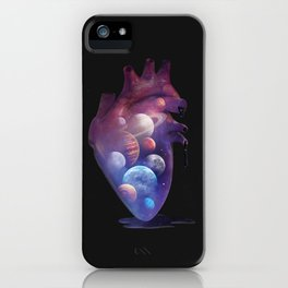 Heart Planets iPhone Case