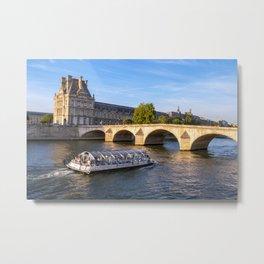 Pont Royal - Paris Metal Print
