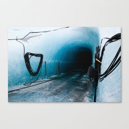 Under the Sea of Ice Canvas Print