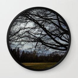 spring trees Wall Clock